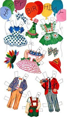 Picasa Web Albums - Bonnie Jones - Paper Dolls~B...