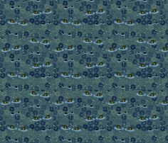 Crocs -  evening surprise fabric by glimmericks on Spoonflower - custom fabric