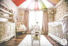 Gorgeous Vintage Baby Girl Nursery