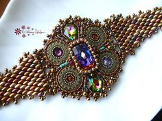 EBWC May 2014 How Unusual Bead Embroidered RESISTOR by MaewaDesign