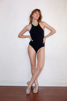 Black Swimsuit, One Piece Swimsuit, Performance Inspired, Swimsuits, Swimwear, Fabric Material, Bold Colors, Turkey, How To Wear