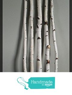 "White Birch Sticks in a 5 piece set and 3 ft. Our Decorative White Birch Branches are harvested in Northern Wisconsin. The White Birch has an exfoliating ""paper-type"" bark. Birch Logs, Birch Branches, Birch Bark Decor, Flower Pot Design, Christmas Tree Branches, Branch Decor, Inspired Homes, How To Make Beads, Home Decor Items"