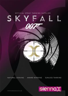 Sienna X - the official spray tan for Skyfall  http://www.beautyguild.com/news.asp?article=2569