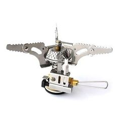Mini Portable Backpacking Outdoor Gas Butane Propane Canister Camp Stove Burner * See this great product.