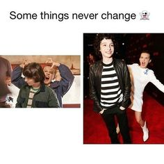 Stranger Things Finn and Millie Stranger Things Have Happened, Stranger Things Funny, Stranger Things Netflix, Saints Memes, Stranger Danger, Funny Memes, Hilarious, Don T Lie, Best Shows Ever