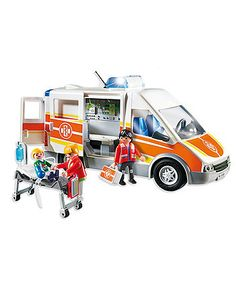Playmobil Ambulance with Lights and Sounds