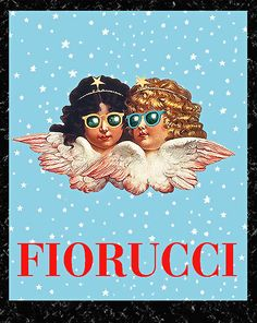 Fiorucci Poster Prints • 16x 20 • Printed On Non-Fade Archival Paper • Ready For Framing • Brand New, Classic, Amazing!  You Are Looking At A