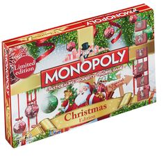 Buy Monopoly Board Game - Christmas Edition today at IWOOT. We have great prices on gifts, homeware and gadgets with FREE delivery available. Christmas Games Online, Christmas Board Games, Christmas Themes, Christmas Traditions, Monopoly Board, Monopoly Game, Family Board Games, Family Boards, Board Game Online