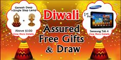 Send Gifts to INDIA.  Celebrate this Diwali with Assured Free Gifts and DRAW  For More details about the Offers and DRAW Click: --> bit.ly/ShopnWinFreeGifts  Watch this Page for Diwali Creative Gift Ideas or click: --> Is.gd/DiwaliGifts