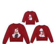 19594bb92b Christmas Family Matching Women Men Kids Sweatshirt Hoodies Sweater Xmas  Santa Red Long Sleeve Autumn Winter Top T-shirt-. Leki · Women Clothes