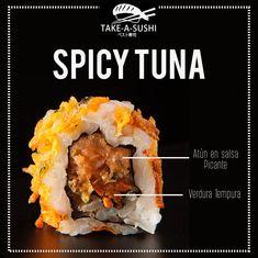 Publicidad Para Take A Sushi on Los Andes Portfolios Tuna Sashimi Recipe, Sushi Deli, Sushi Take, Sushi Express, Sushi Japan, Sushi Roll Recipes, Mochi, Types Of Sushi, Sushi Night