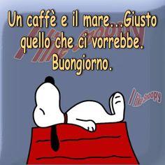 Buongiorno buonanotte on pinterest buongiorno snoopy for Buongiorno divertente sms