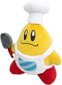 "Sanei Kirby Adventure Series Chef Kawasaki 7.5"" Plush Sanei http://smile.amazon.com/dp/B00MHI1T3U/ref=cm_sw_r_pi_dp_haVXub1EFDQPR"