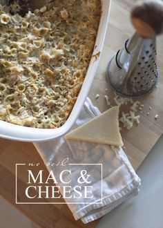 Eats // No Boil Mac + Cheese - Fresh Mommy Blog