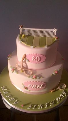 Tennis Cake by peggypal, via Flickr
