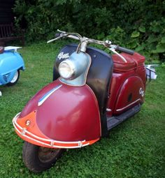 1950s Gogge German Scooter