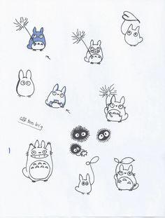 Totoro tatto ideas