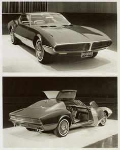 1966 Pontiac Banshee Concept.