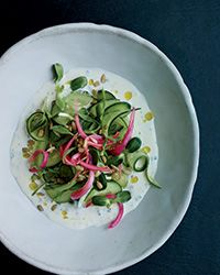 Cucumber Salad with Buttermilk Dressing and Pickled Onion | Food & Wine