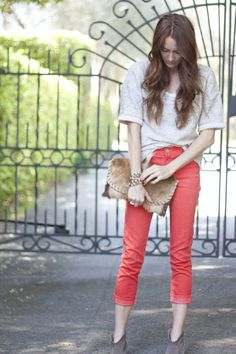 perfect spring jean color