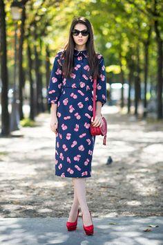 October 4 Fashion Week Street Style Doina Ciobanu - Paris Street Style Pictures - ELLE