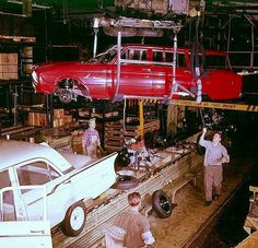 '60 Ford Falcon assembly