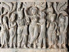 Life of the Buddha. Birth.   Pakistan (ancient Gandhara)  late second early third century  stone