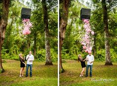 Its a girl, Gender Reveal Party love the ballon idea! Never thought these parties were too important but now I want one lol