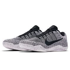 Behind The Scenes By sneakernews Kobe 11, Nike Basketball Shoes, Men's Basketball, Grey And White, Behind The Scenes, Men's Shoes, Kicks, Sneakers Nike, Oreo