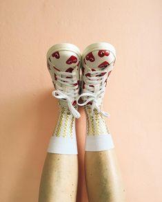 """Happy socks in My new shoes  @happysocksofficial  #happysocks"""