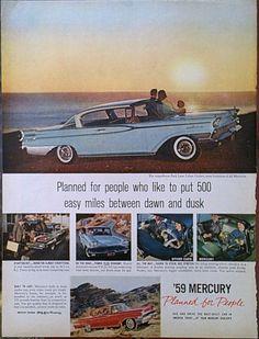 1949++Mercury++Park+Lane+Car+Advertisment+by+Inkart+on+Etsy,+$2.50