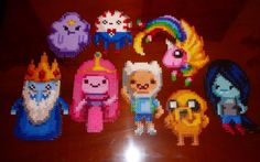 Adventure Time gang