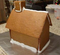 Basic Gingerbread House Pattern