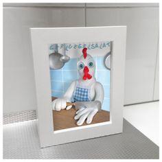 52 Illustrated Cooking Cards - Geflügelsalat - http://cooking.zeixs.com