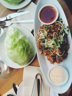 having lettuce wraps from the cactus club will probably change your life, for the better. Just saying.