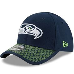 6566d7150 Seattle Seahawks New Era Toddler 2017 Sideline Official 39THIRTY Flex Hat -  Navy