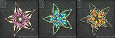 Gemas de flor adota 1 (fechado)