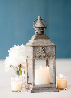 Wedding reception centerpiece idea; Featured Photographer: Melissa Robotti Photography