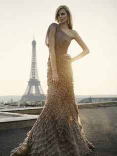 paris gorgeousness and this formal dress.