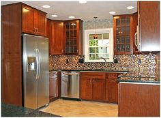 Super Small Kitchen Remodel Ideas ~ http://lovelybuilding.com/small-kitchen-remodel-tips/