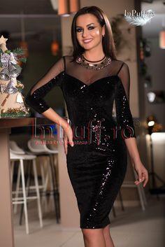 Rochie neagra de catifea cu aplicatii de paiete –este o rochie eleganta de o calitate superioara la un pret mic. Gasesti aici recomandari de rochii elegante de seara, de ocazie, rochii pentru evenimente speciale, dar si modele rochii elegante scurte sau lungi.Sunteți în căutare de rochii de zi, rochii de ocazie sau rochii de seară? … … Continuă să citești →