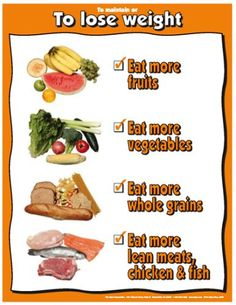 """Lose Weight Do`s 17"""" X 22"""" Laminated Poster for only $8.95 You save: $0.90 (9%)"""