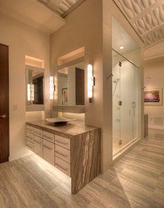 Rooftop Condo - contemporary - Bathroom - Milwaukee - Deep River Partners
