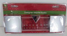 Unbranded/Generic Designer AM / FM Radio KR 3599 #UnbrandedGeneric