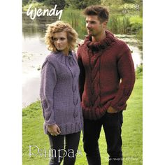 70fcb57073 Unisex Cable Sweater and Cowl in Wendy Pampas - 5698