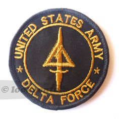 Black Cod Call of Duty Delta Force Embroidered Milspec Army Ops SFG Velcro Patch Military Ranks, Military Insignia, Delta Force, Patches For Sale, Pin And Patches, Special Forces Patch, Us Army Patches, Velcro Patches, Tactical Patches