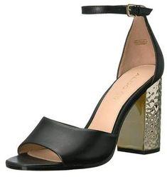 0e21228bf6b Aldo Nilia Two Piece Block Heel Sandals. Aldo Heels