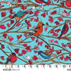 new Laura Gunn fabric at Whipstitch - I will be going there tomorrow on my lunch hour to purchase some for a new spring pick-me-up!
