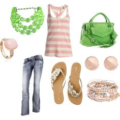 Spring Fling, created by jessicawhite on Polyvore