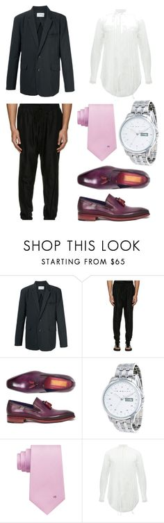 """""""Australian designer"""" by sparklepieceblog on Polyvore featuring Song for the Mute, Ike Behar, Calvin Klein, men's fashion and menswear"""